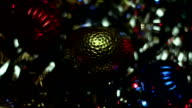 sparkling Christmas toys