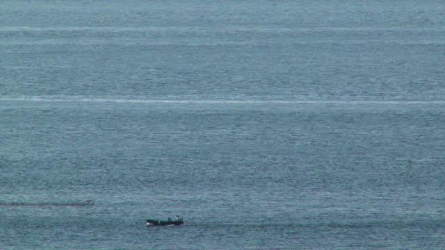 Spatara to catch swordfishes in the Mediterranean Sea, Italy