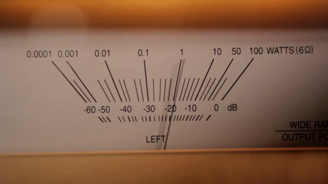 Speaker Output Meter (Left)