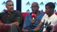 Speaking at a press conference on Sunday former Olympic gold medallists including Maurice Greene Dick Fosbury and Daley Thompson made their...