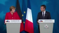 Speaking at a summit in Brussels German Chancellor Angela Merkel says that if the UK does not guarantee four basic freedoms in future Brexit...