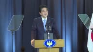 Speaking during a visit to Argentina Japanese Prime Minister Shinzo Abe directed his government to work with authorities in the affected areas