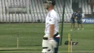 Speculation over Alastair Cook's captaincy and the future of several players ENGLAND Jonathan Trott batting in the nets during an England training...
