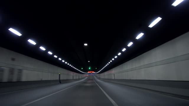 Speeding Through Tunnel