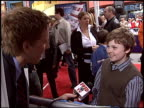 Spencer Breslin at the 'Dr Seuss' The Cat in the Hat' Premiere at Universal in Universal City California on November 8 2003