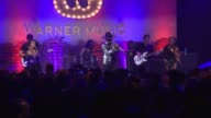 PERFORMANCE Spencer Ludwig at Warner Music Group Grammy Party in Los Angeles CA