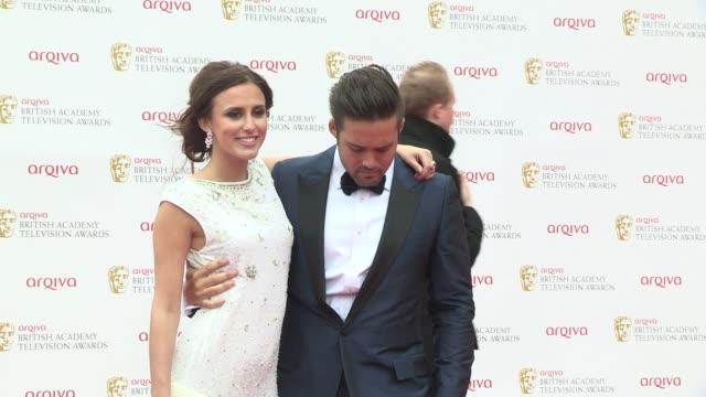 Spencer Matthews Lucy Watson at BAFTA TV Awards 2013 5/12/2013 in London UK