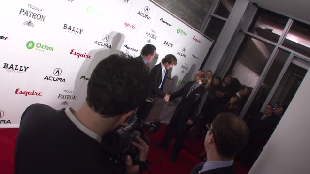 Spencer Treat Clark and guests at the Oxfam Event Honoring Sean Penn and Emile Hirsch For 'Into The Wild' Hosted by Esquire Magazine at Eqsuire North...