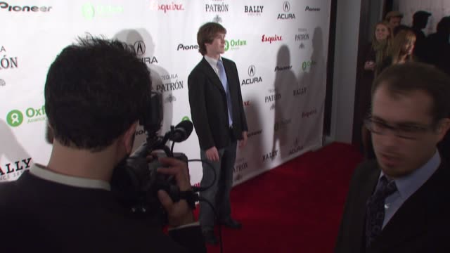 Spencer Treat Clark at the Oxfam Event Honoring Sean Penn and Emile Hirsch For 'Into The Wild' Hosted by Esquire Magazine at Eqsuire North in New...