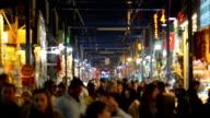 UNSCHARF GESTELLT: Gewürz-Basar in Istanbul