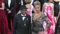 Spike Lee and Tonya Lewis at 'China Through The Looking Glass' Costume Institute Benefit Gala Arrivals at Metropolitan Museum of Art on May 04 2015...