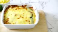 spinazie met kaas