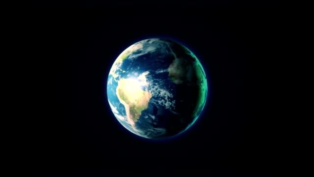 Snurrande jorden