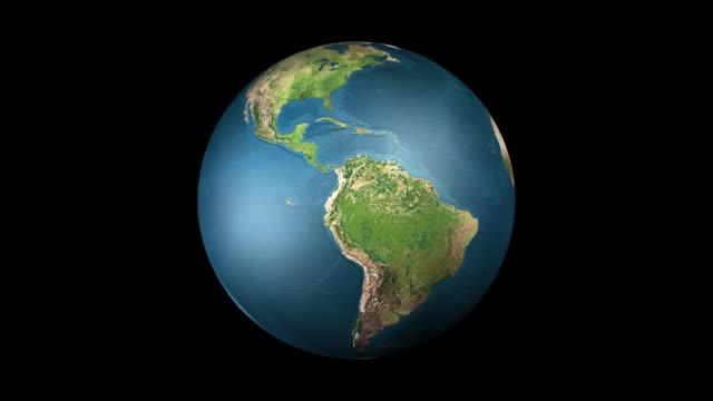 HD Spinning earth