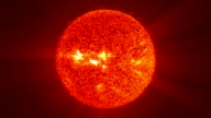 Spinning sun