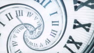 Spiral Clock (Bright, Golden Ratio) - Loop