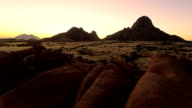 HELI Spitzkoppe At Sunset
