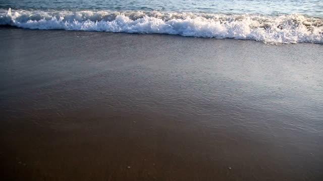 Splashes of waves