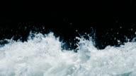 Spritzendes Wasser Wasser, Zeitlupe