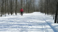 Sport Concepts, Woman cross-country skiing