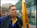 Winter Olympic Games Curling ITN Cutaways ENGLAND London Vox pops SOT