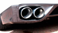 Sports Car Exhausts Revving