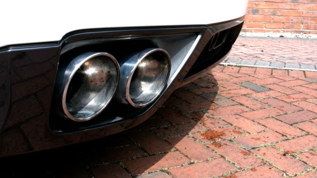 Sportwagen zwei Pipe Exhaust-Schein