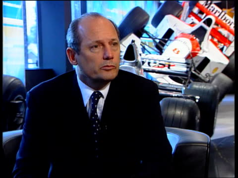 Motor Racing Ferari Win Appeal ITN Ron Dennis interview SOT still a little numbing what has happened / had some expectation that the outcome of the...