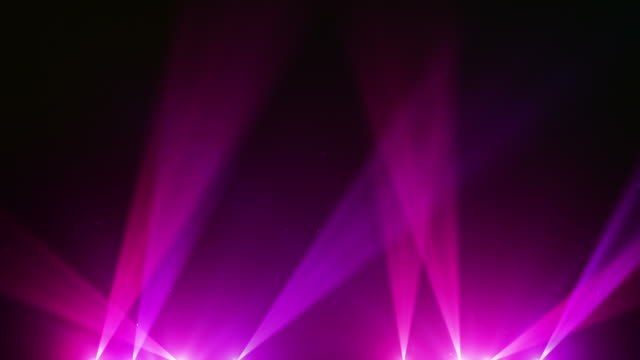 Spot Lights Background Loop - Pink (Full HD)