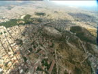 Sprawling metropolis of Athens including the Acropolis high on a hilltop