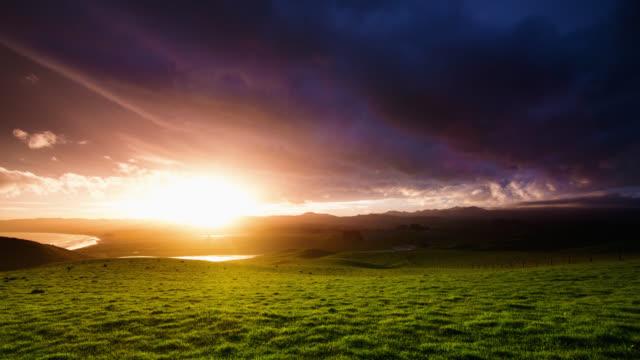TIME LAPSE: Spring Sunset