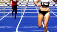 Sprint Hurdle Race For Women