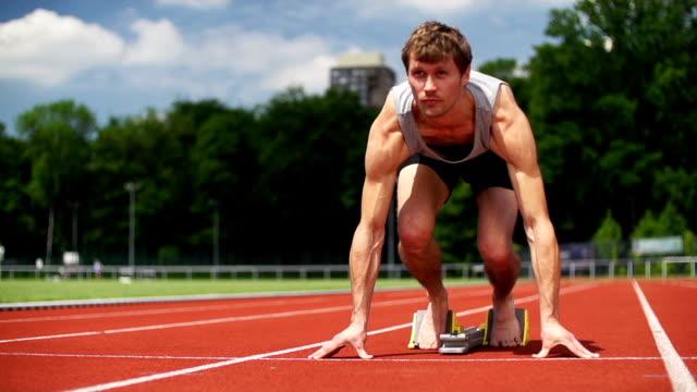 SLOW MOTION: Sprinter