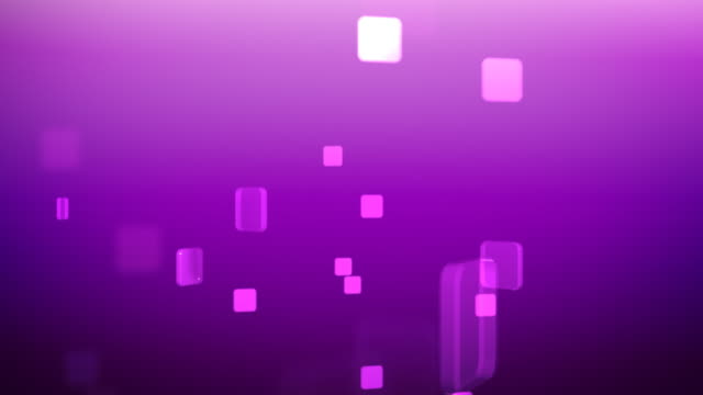 Squares Loop 01 Violet Background
