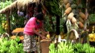 Sri Lanka Cutting Pineapple