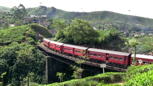 Sri Lanka Passenger Train Nuwara Eliya