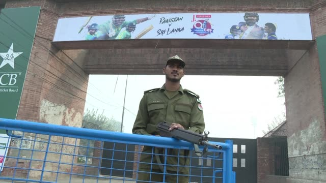 Sri Lanka's cricket team arrive in Lahore under heavy security to play the final Twenty20 of a three match series eight years after they were...