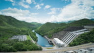 Srinagarind Dam, Hydroelectric Power Station at Kanchanaburi Province, Thailand