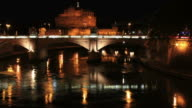 St Angelo Castle, time lapse HD video