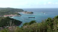 St Barth, amazing panoramic view