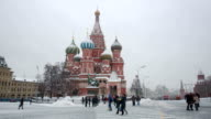 St Basil Cathedral in Red Square