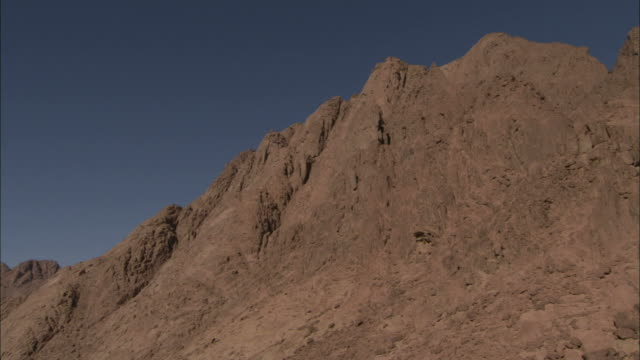 St. Catherine's Monastery nestles at the bottom of a gorge in Mt. Sinai Egypt. Available in HD.