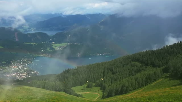 St. Gilgen, Wolfgangsee and mountains