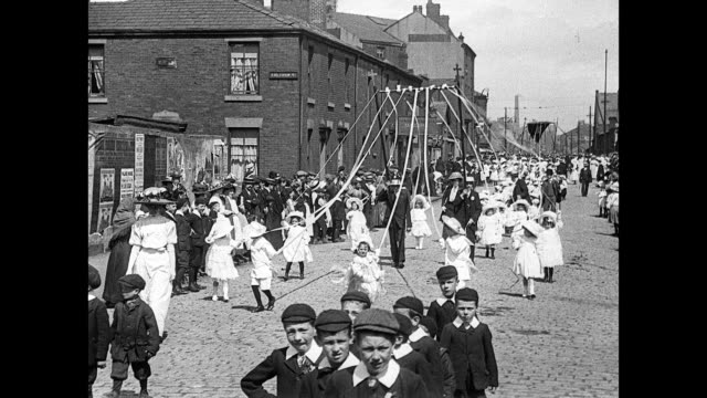 1911 St. Joseph's Catholic Whit Procession, Blackburn
