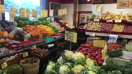 St. Lawrence Market: Store with Fruits and Vegetables-Toronto,Canada