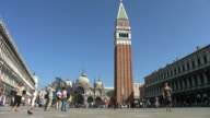 St Mark's Square and bell tower.