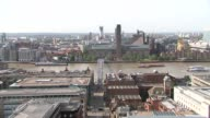 St Paul's Cathedral general views ENGLAND London City of London EXT General views St Paul's Cathedral / 30 St Mary Axe seen from St Paul's / The...