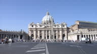 St. Peter's Square with the St. Peter's Basilica