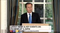 1430 1500 St Stephen's Club David Cameron press conference SOT Negotiations would involve compromise / That is what working together in the national...