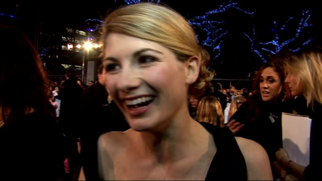 'St Trinian's 2 The Legend of Fritton's Gold' film premiere in London red carpet interviews The Banned of St Trinians Jessica Bell Daisy Tonge...